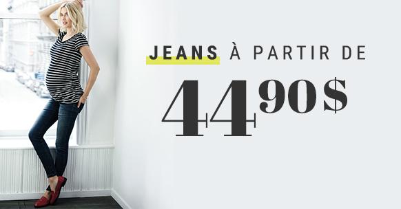 Jeans à 44,90$
