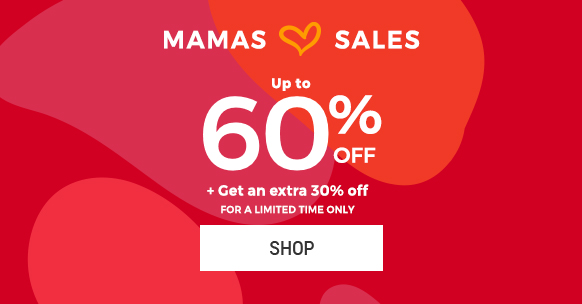 Up to 60% off + Get an extra 30% off