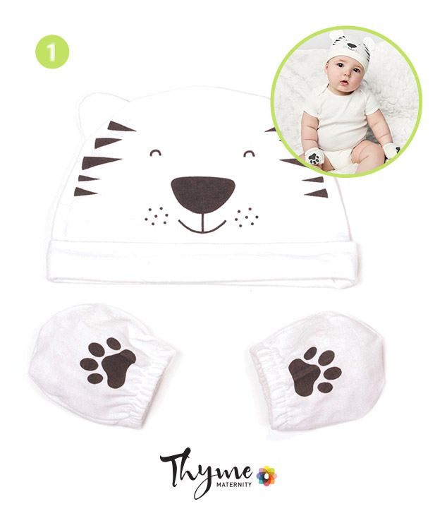 Little Tiger Hat and Mitts