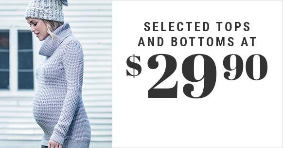 Selected Tops and Bottoms at $29,90