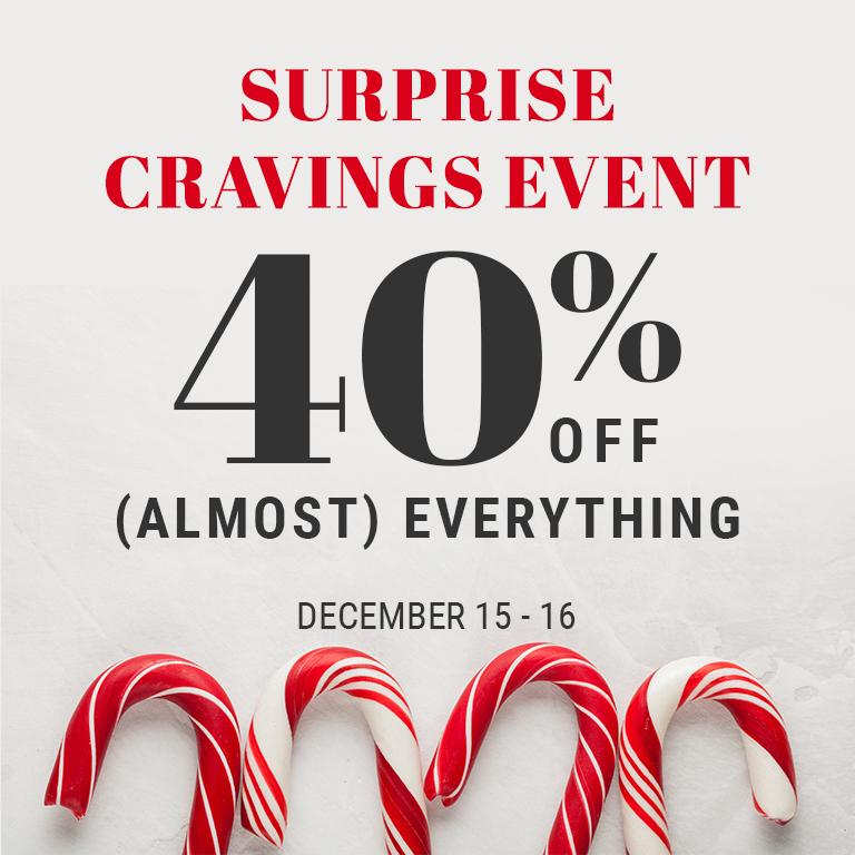 Surprise Cravings Event
