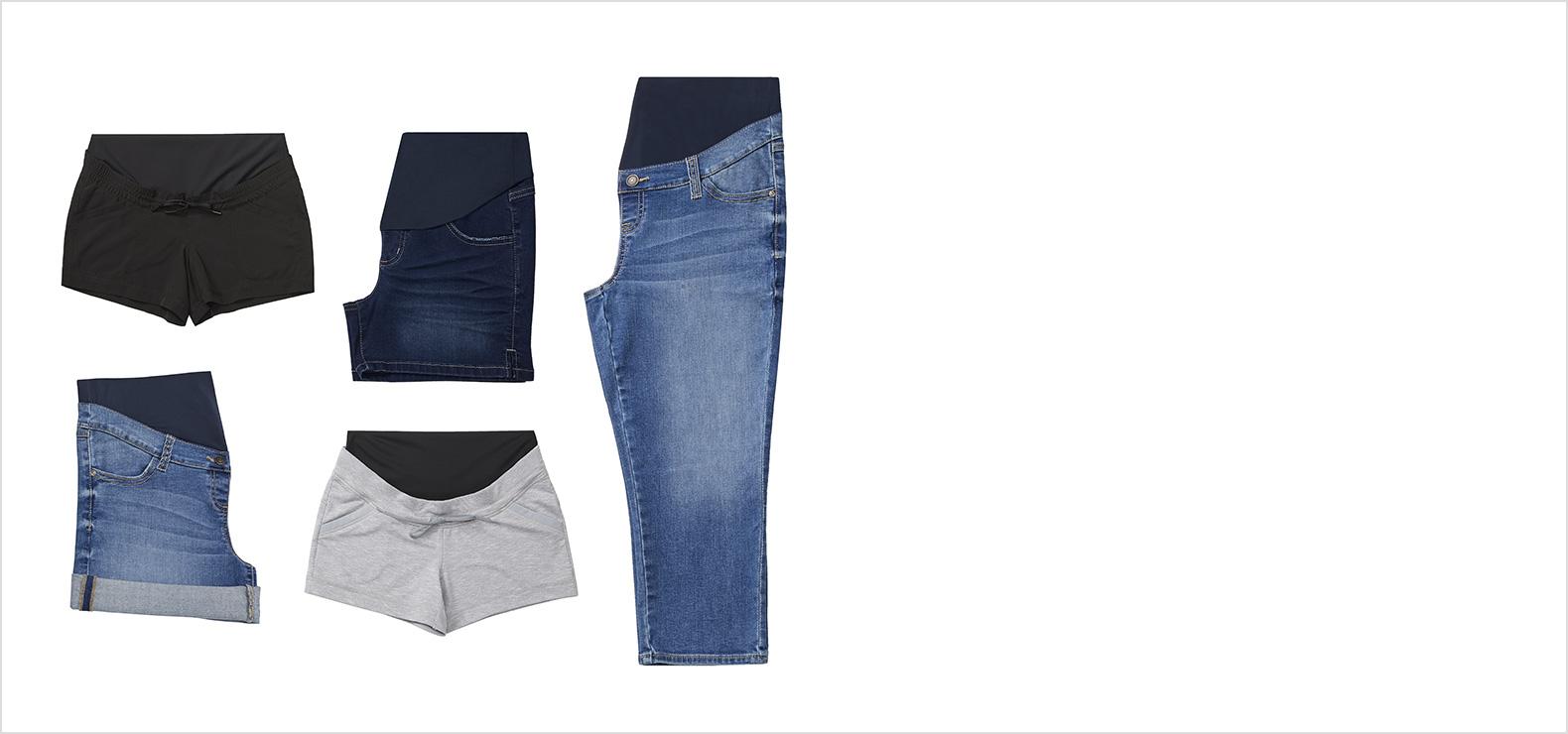 maternity Clothing - Capris & Shorts