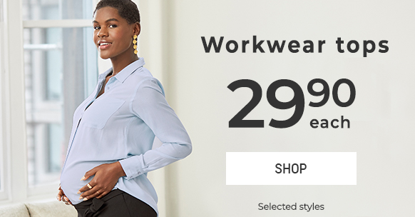 Workwear tops at $29.90