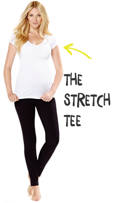The stretch tee