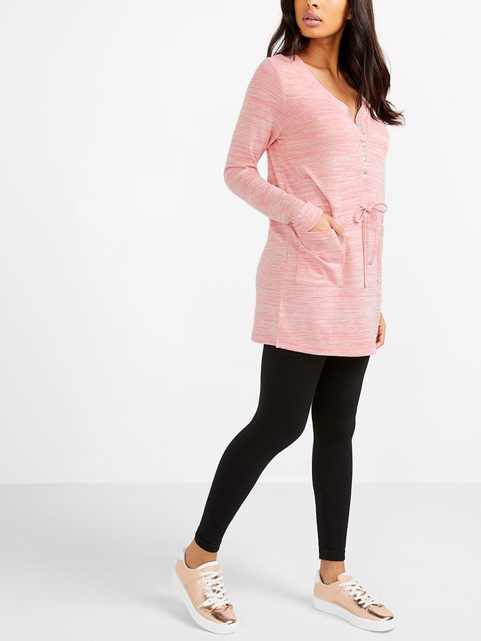 Long Sleeve Nursing Tunic
