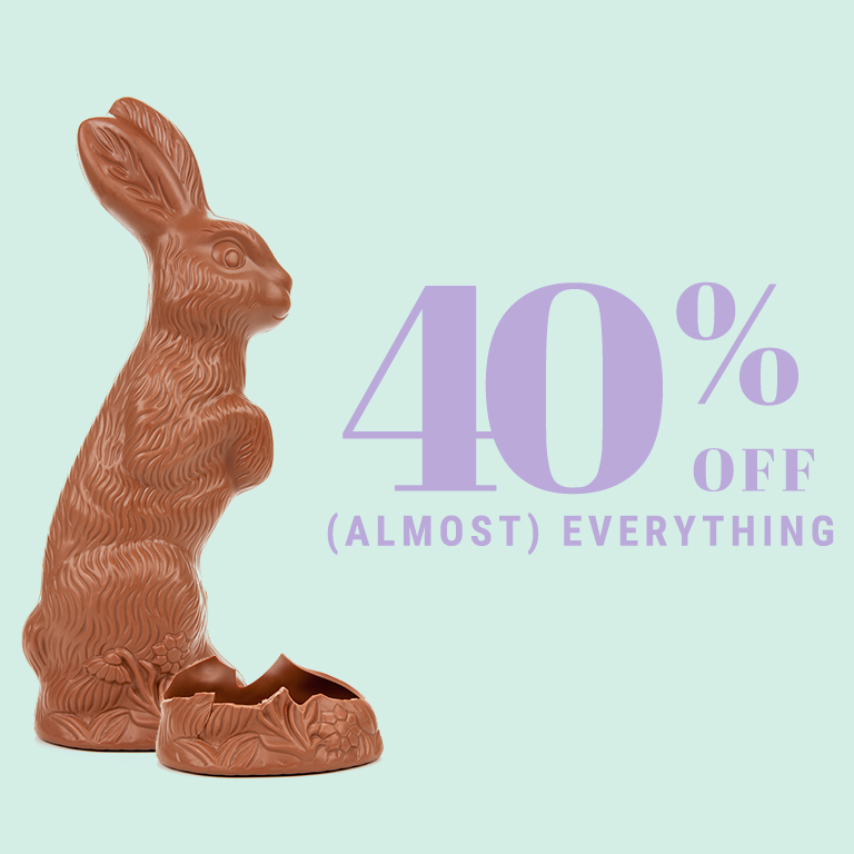 40% off (almost) everything