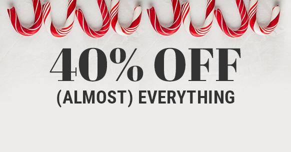 Surprise Saturday Cravings 40% off (almost) everything