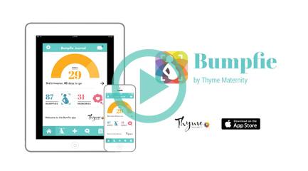 Bumpfie Application video