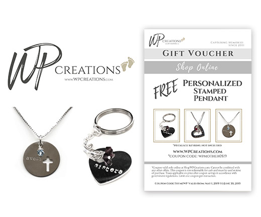 Free personalized stamped