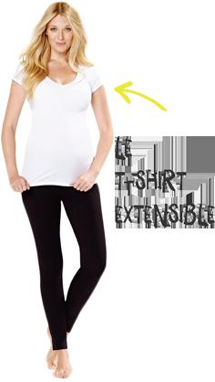 Le t-shirt extensible