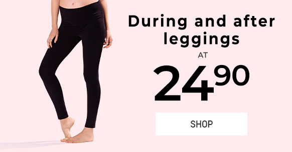 During and after leggings at $24.90