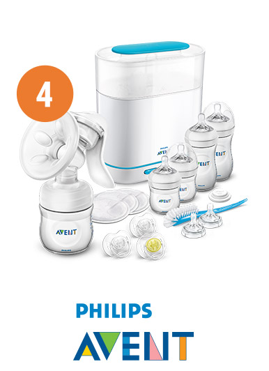 Natural all-in-one starter set philips avent