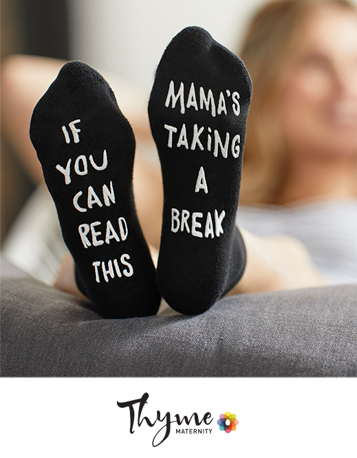 Maternity socks