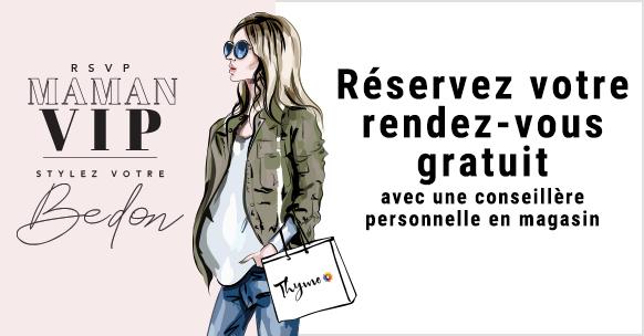 Réservez votre rendez-vous gratuit avec une conseillère personnelle en magasin