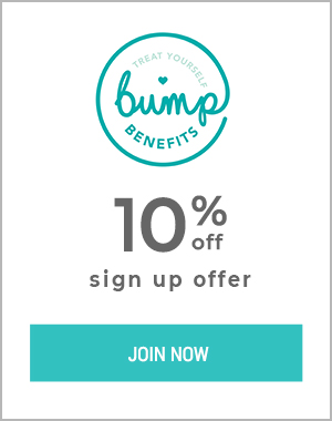 Bump Benefit sign up offer 10%