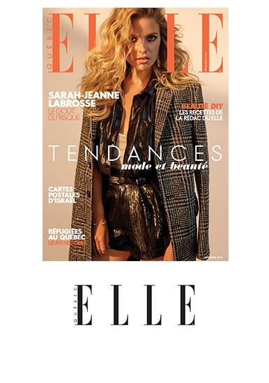 Magazine Elle Québec, édition de septembre