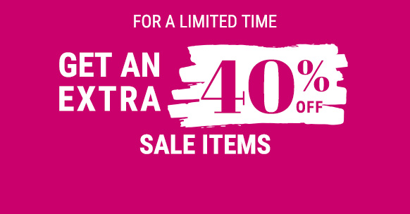 get an extra 40% off sale items