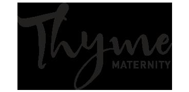 Thyme maternity logo