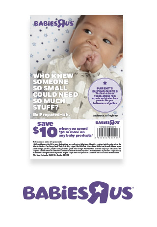 $10 off coupon babiesrus