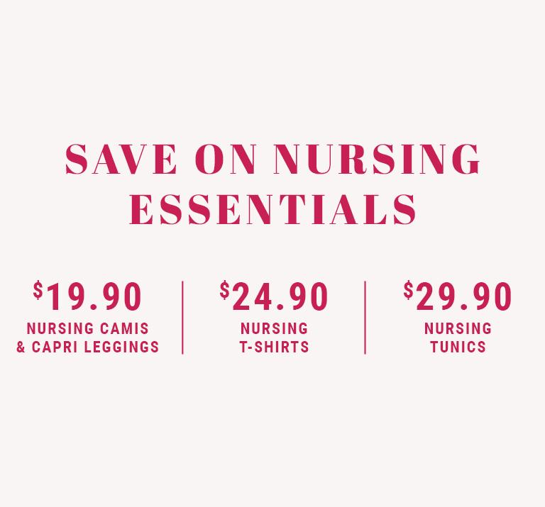 Save on nursing essentials