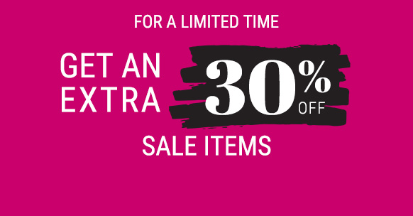 get an extra 30% off sale items