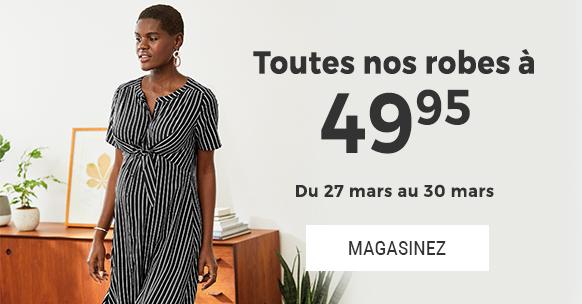 Robes a 49.95 $
