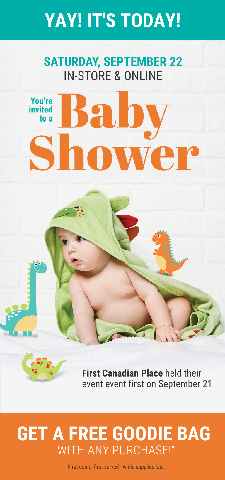 Baby Shower september 22