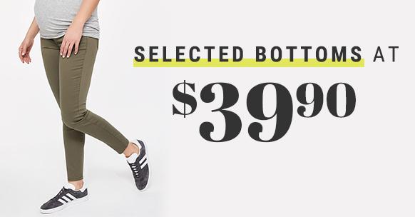 Bottoms $39.90