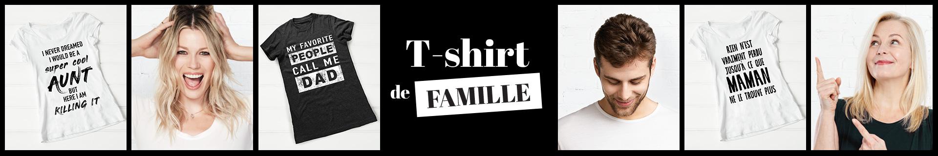 nouveautés - T-shirts de famille