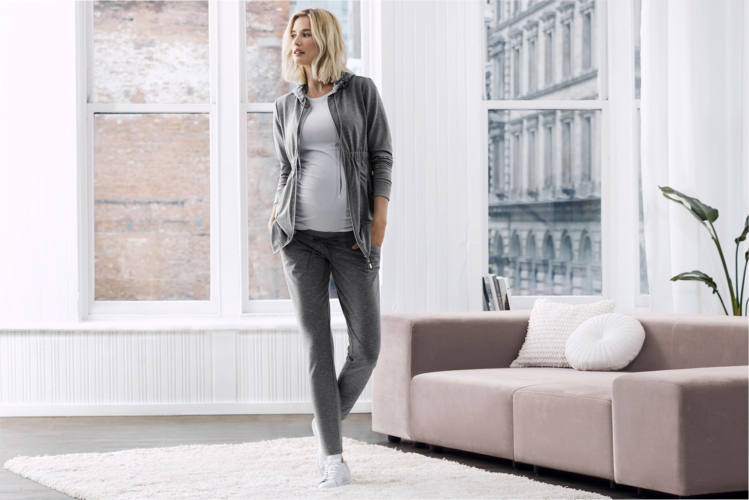 The Sweatpant. Expertly designed for a day of lounging