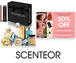 50% off coupon on personalized fragrance subscription service