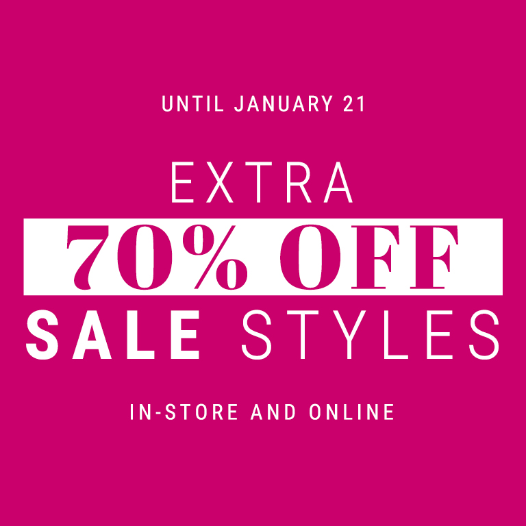 extra 70% off sale style