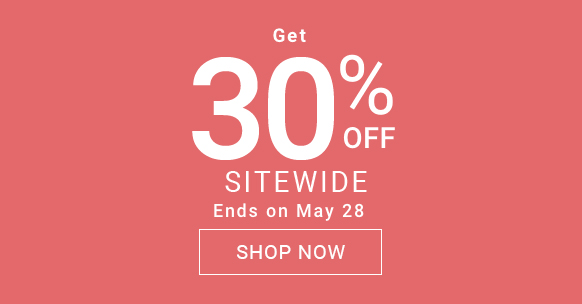 Get 30% off sitewide.