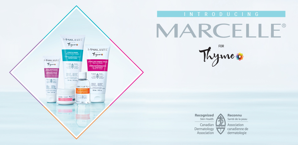 Marcelle Products Header