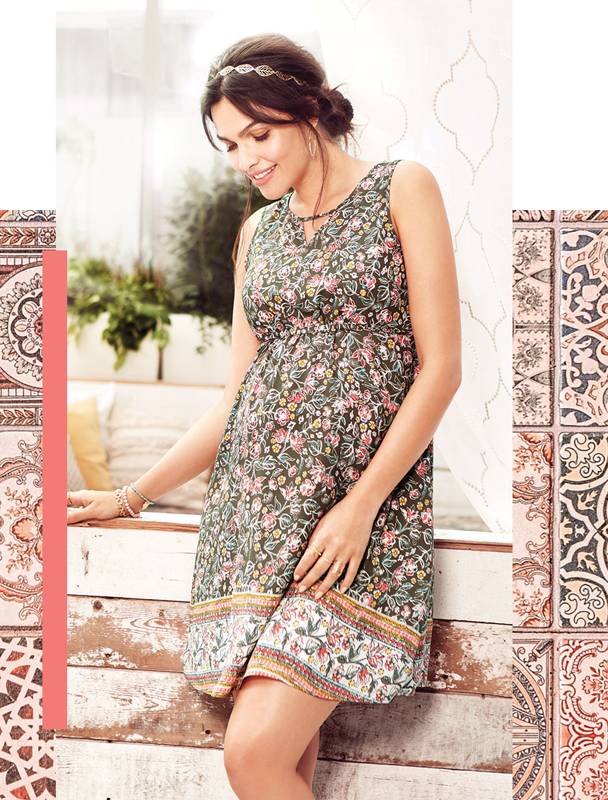 robes en fleurs