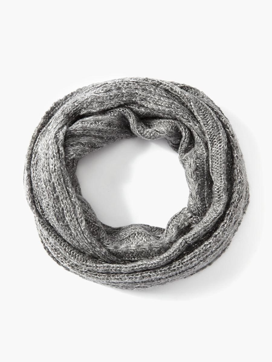 comment tricoter un foulard eternite